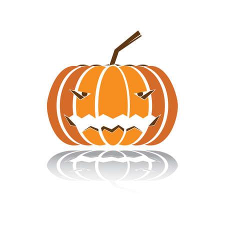 carved face pumpkin