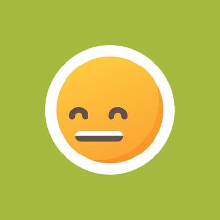 Emoticon lachen