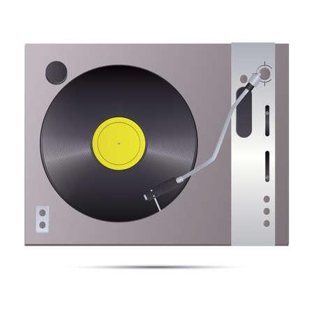 DJ turntable 版權商用圖片 - 81536984