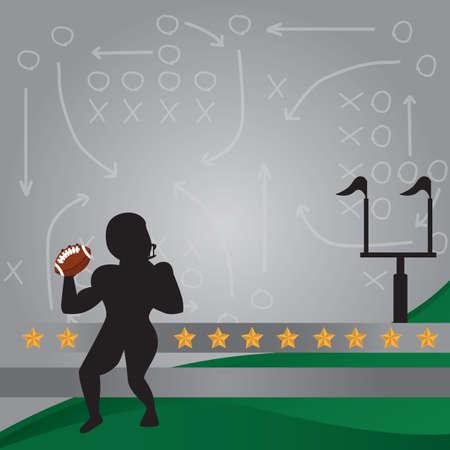 American football-tactiek