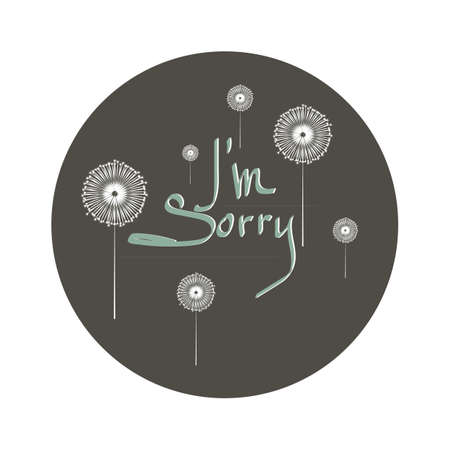 word i am sorry