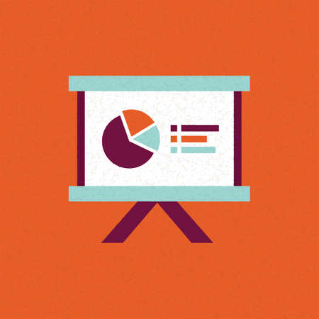 office projector board Illustration