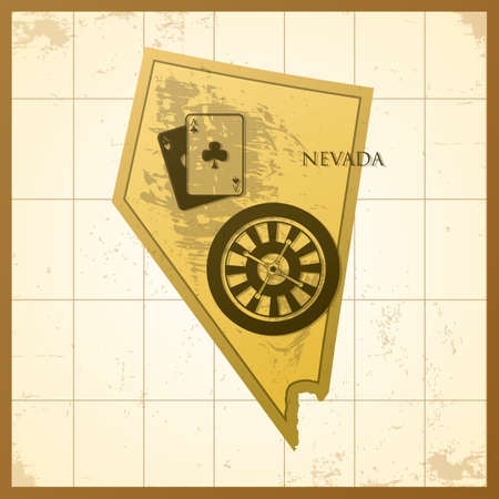 map of nevada state