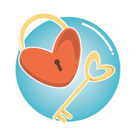 heart shaped padlock and keys
