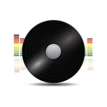 レコード  イラスト・ベクター素材