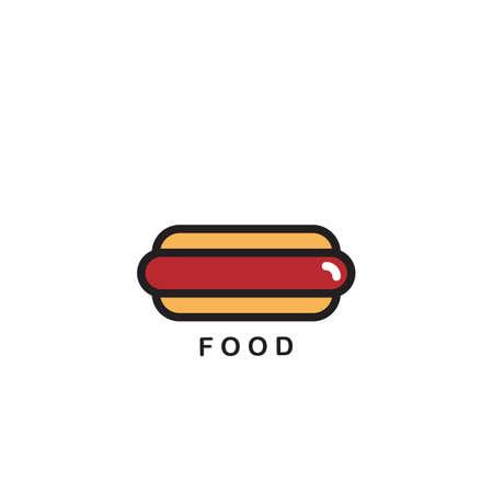 hot dog Illustration