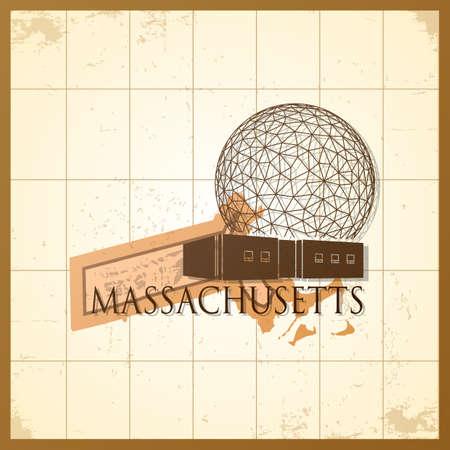 map of massachusetts state