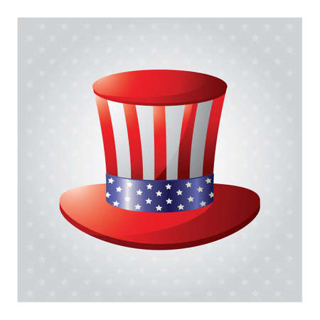 american hat Illustration