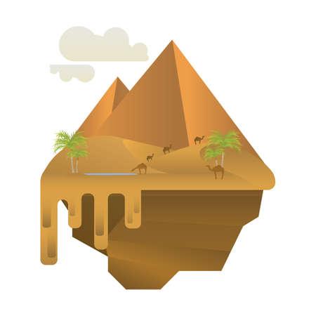 사막 경관