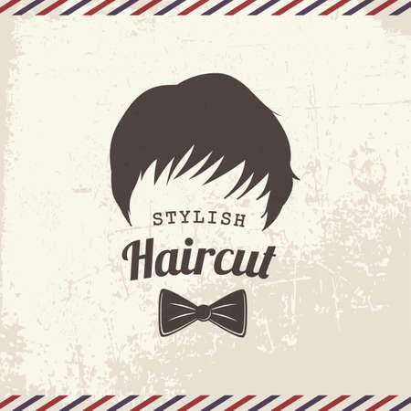 stylish haircut Archivio Fotografico - 106670595