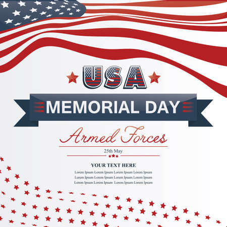 memorial day Banque d'images - 106670607