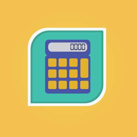 Taschenrechner Standard-Bild - 81419259