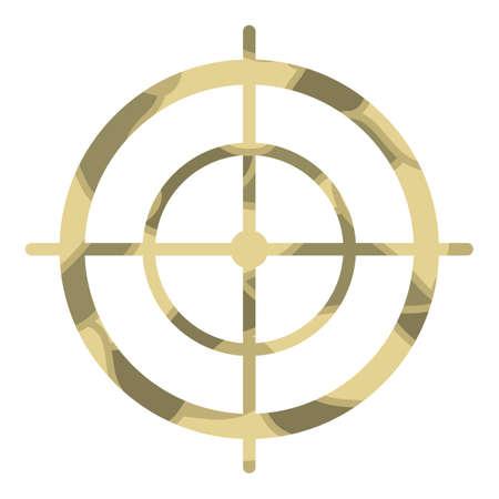 Crosshair vector Ilustrace