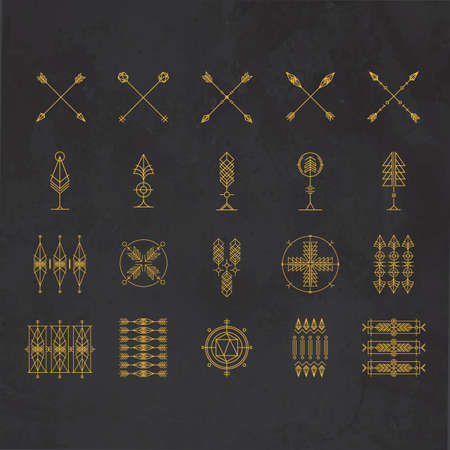 Tattoo arrows collection