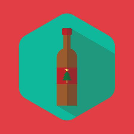 wine bottle Иллюстрация