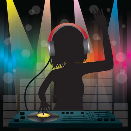DJ 재생 믹서 스톡 콘텐츠 - 81537113