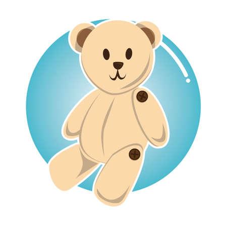 teddy bear 向量圖像