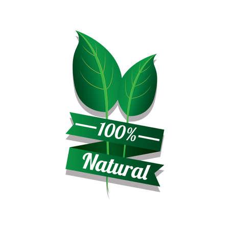 natural banner Ilustrace