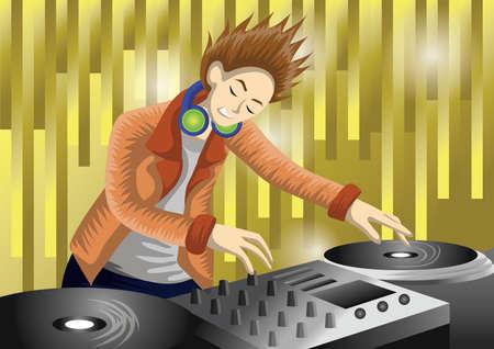 DJ 재생 믹서