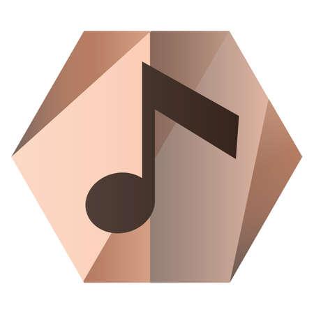 quaver note for music