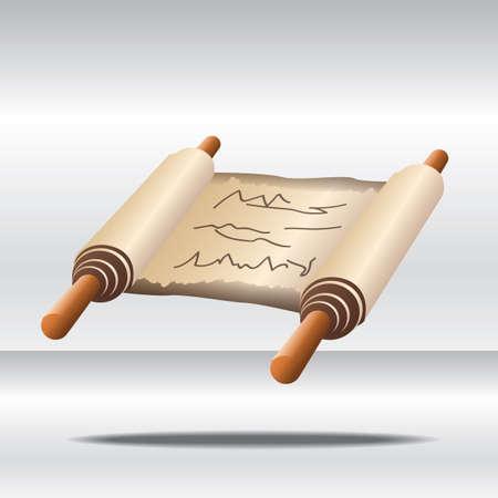 scroll Ilustração