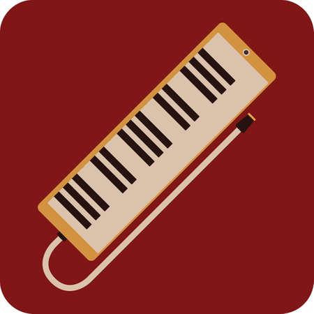 melodica Ilustração
