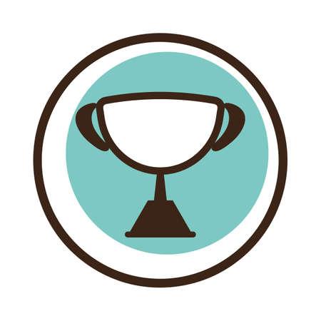 Coupe gagnante Banque d'images - 81470470