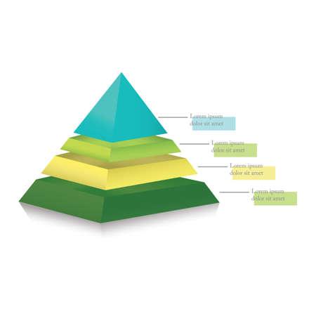 pyramid progress chart