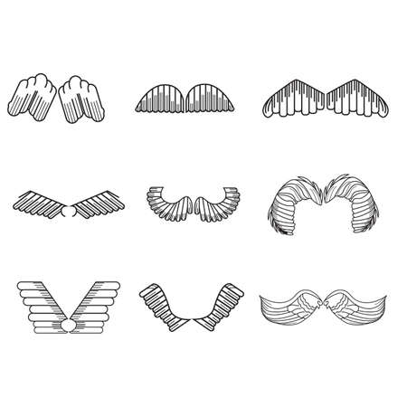 set of wings Ilustrace