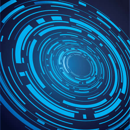 abstract computer blue background
