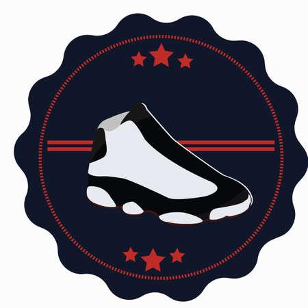 shoe label Illustration