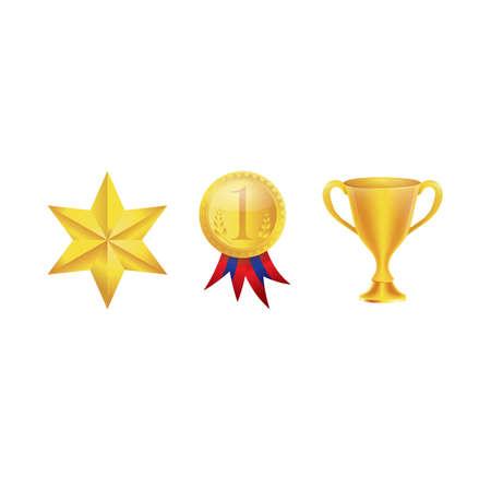 Set of various awards Reklamní fotografie - 81470221