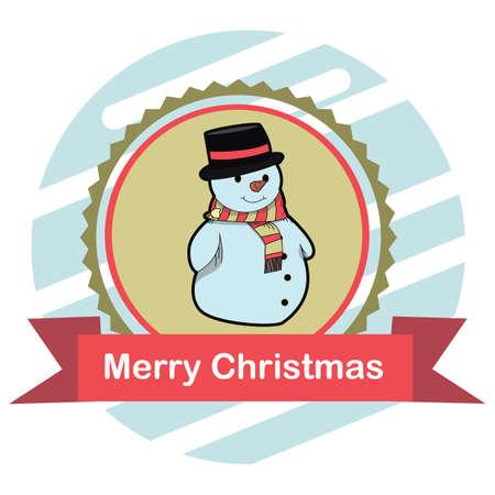snowman Illusztráció