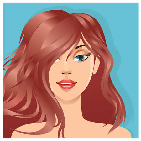 modern woman hairstyle
