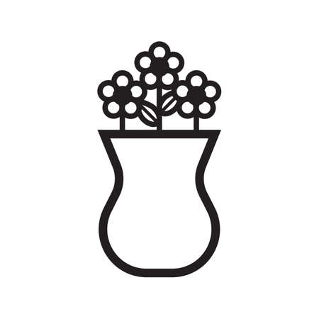 Flower vase Illustration