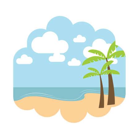 해변 풍경