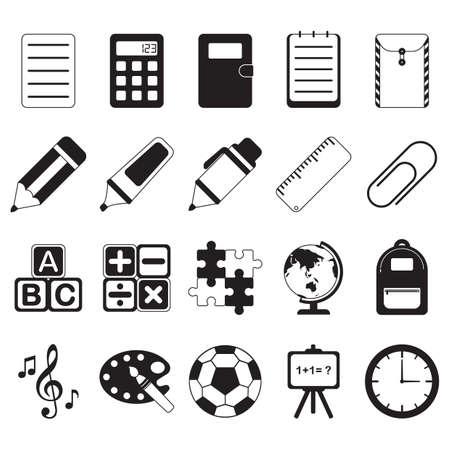 educatieve pictogrammen