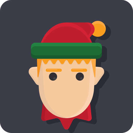 man wearing christmas cap