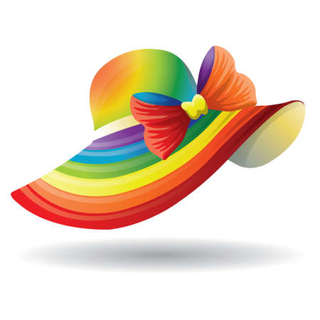 colorful hat Иллюстрация