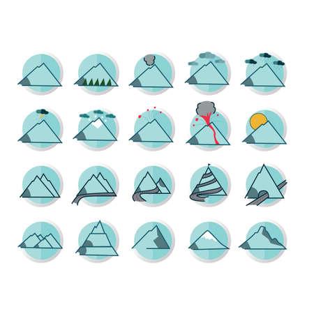 山のコレクション