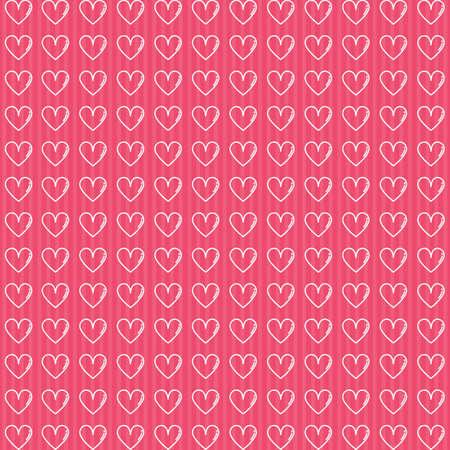 hearts shape background Ilustrace
