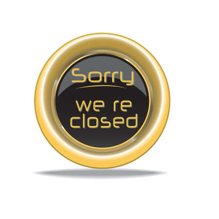 sorry we are closed Stock fotó - 81419019