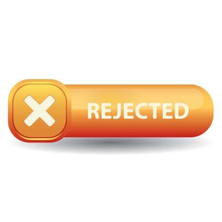 拒否ボタン