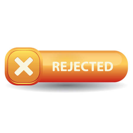 거부 된 버튼
