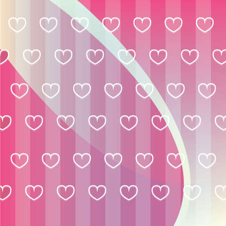 hearts shaped background