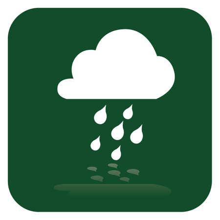 Wolke und Regen Standard-Bild - 81419028