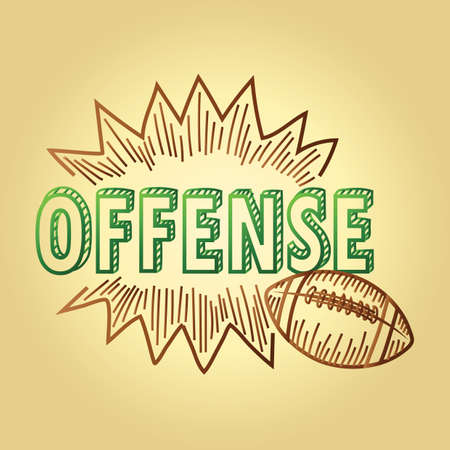 football strategy text offense