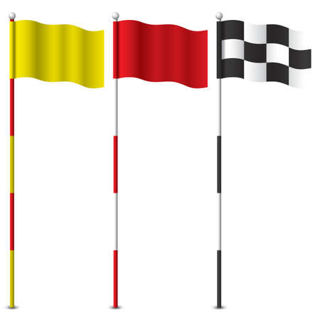 golf flag sticks