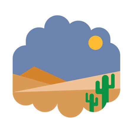 Desert landscape Фото со стока - 81470273