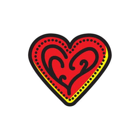 심장 모양의 쿠키 일러스트